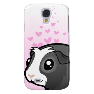 Guinea Pig Love (long hair) Galaxy S4 Case