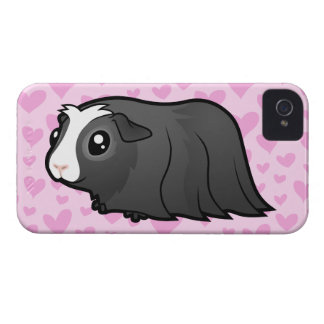 Guinea Pig Love (long hair) iPhone 4 Case-Mate Cases