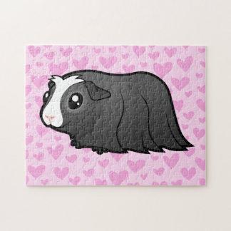Guinea Pig Love (long hair) Jigsaw Puzzle