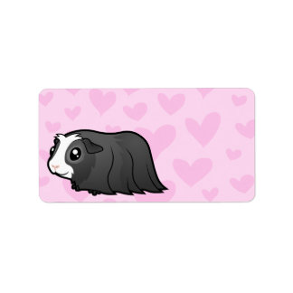 Guinea Pig Love (long hair) Label