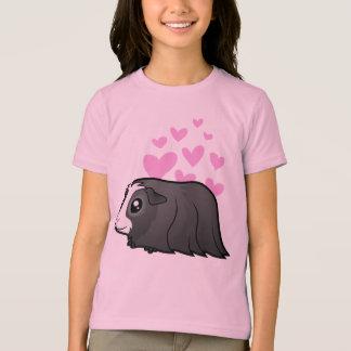 Guinea Pig Love (long hair) T-Shirt
