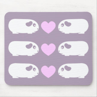 Guinea Pig Love Mouse Pad