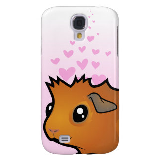 Guinea Pig Love (scruffy) Galaxy S4 Case