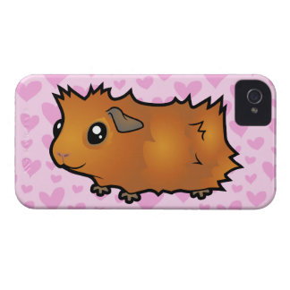Guinea Pig Love (scruffy) iPhone 4 Case
