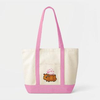 Guinea Pig Love (scruffy) Tote Bag