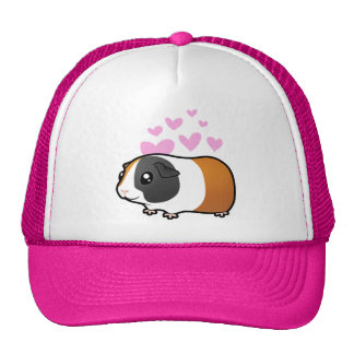 Guinea Pig Love (smooth hair) Cap