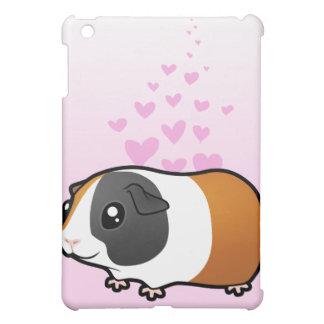 Guinea Pig Love (smooth hair) iPad Mini Cover
