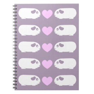 Guinea Pig Love Spiral Notebook