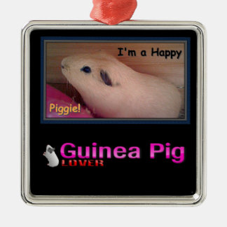 Guinea Pig Lover Christmas Ornament