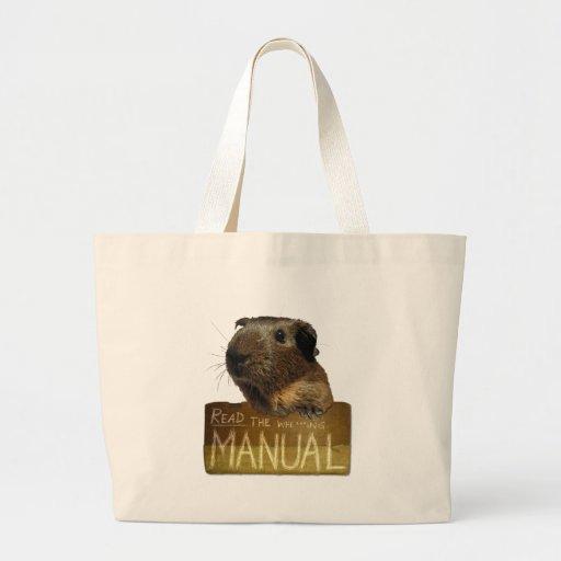 Guinea Pig Manual Bags