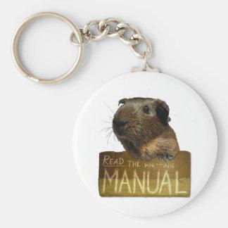 Guinea Pig Manual Keychains