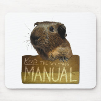 Guinea Pig Manual Mouse Mat