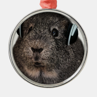Guinea Pig Music Pet Christmas Ornament