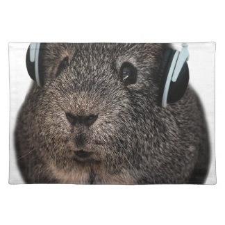 Guinea Pig Music Pet Placemats