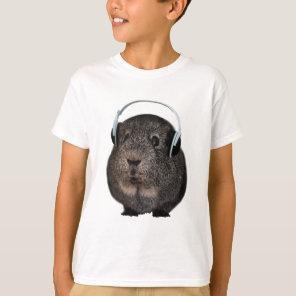 Guinea Pig Music Pet T-Shirt