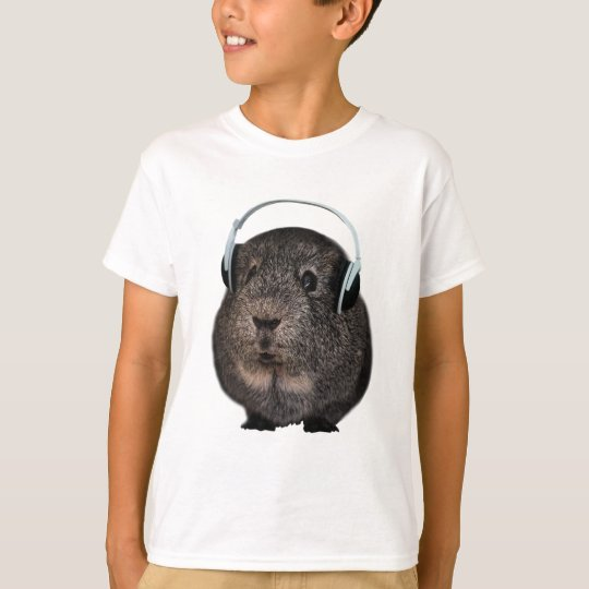 Guinea Pig Music Pet T-Shirt