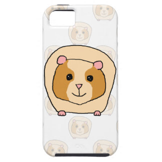 Guinea Pig on a pattern of paler Guinea Pigs. Case For The iPhone 5