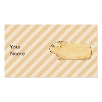 Guinea Pig. Pack Of Standard Business Cards