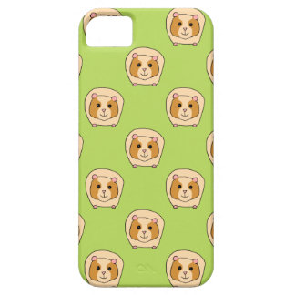Guinea Pig Pattern, on Green. iPhone 5 Cover