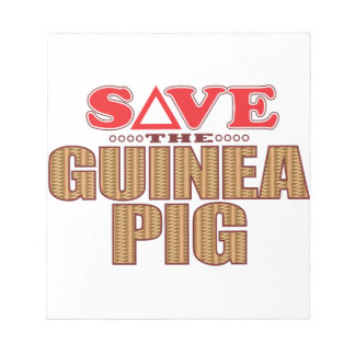 Guinea Pig Save Notepad