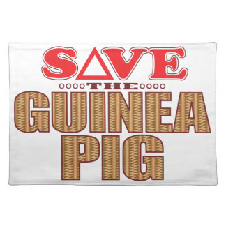 Guinea Pig Save Place Mat