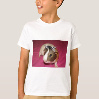 Guinea Pig With Bow 2 T-Shirt
