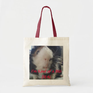 guinea pigs are a big deal tote bag