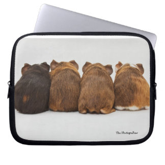 Guinea Pigs Butts Laptop Sleeve