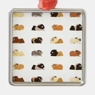 Guinea pigs christmas ornament