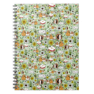 Guinea Pigs in Green Notebook