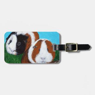 Guinea Pigs Luggage Tag