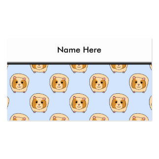 Guinea Pigs on Blue. Pack Of Standard Business Cards