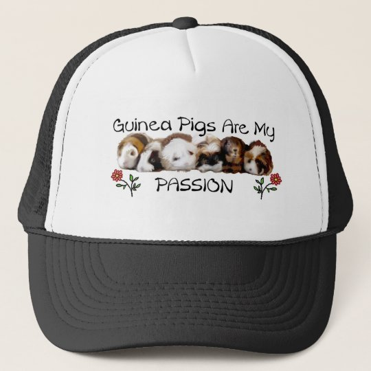 GUINEA PIGS PASSION.jpg Trucker Hat