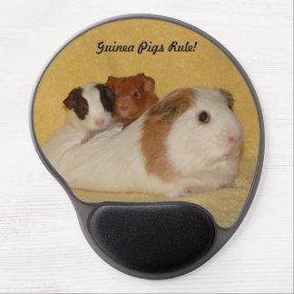 Guinea pigs rule Gel Mousepad