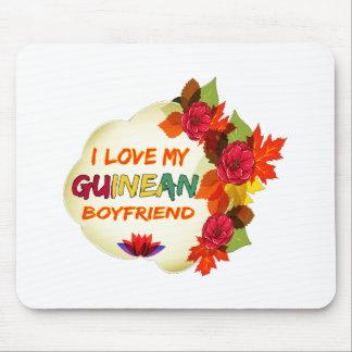 Guinean Boyfriend Design Mouse Pad