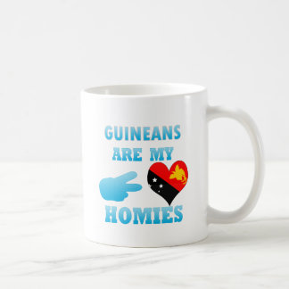 Guineans are my Homies Coffee Mugs