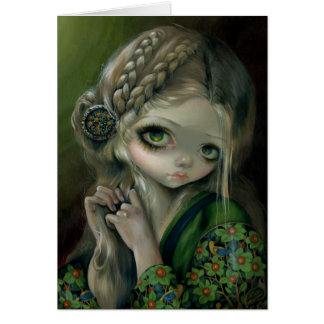 """""""Guinevere Had Green Eyes"""" Greeting Card"""