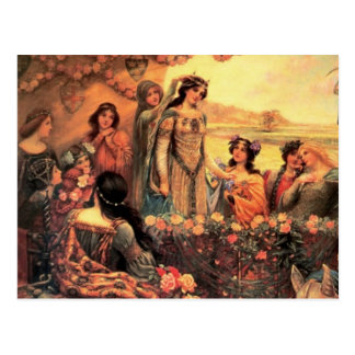 Guinevere in Camelot Postcard