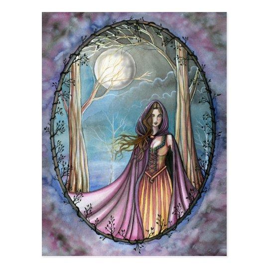 Guinevere Postcard Fairytale King Arthur Legend