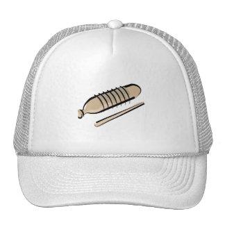 Guiro scraper percussion instrument design image mesh hat