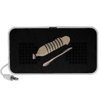 Guiro scraper percussion instrument design image travel speaker