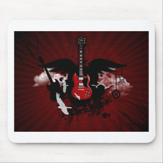 guitar1 mouse pad