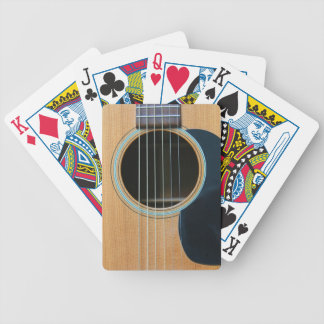 GUITAR 2 BICYCLE PLAYING CARDS