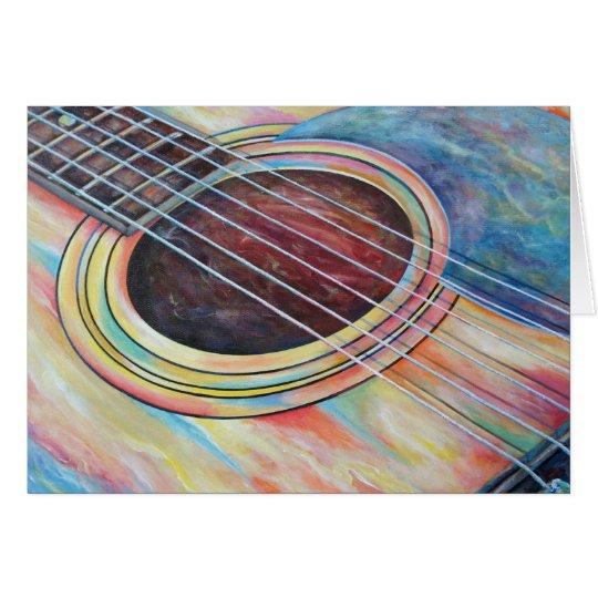 Guitar 2 card