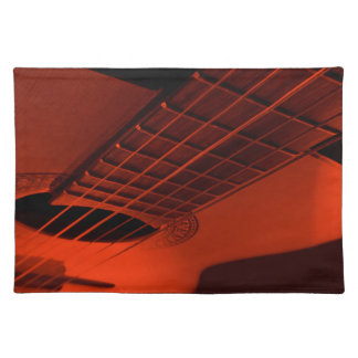 Guitar abstract. placemat