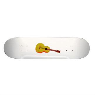 Guitar Abstract Plain Graphic Skate Board Decks