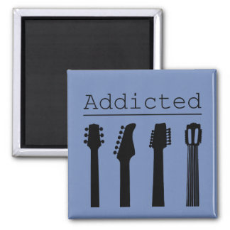 Guitar addicted magnet