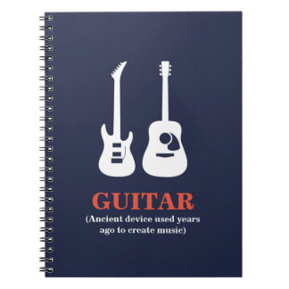 Guitar (Ancient device used......... Notebook