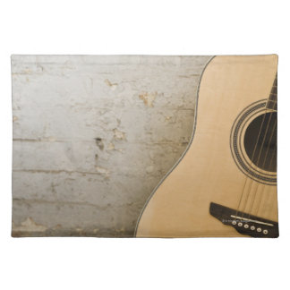 Guitar and Bricks Placemat