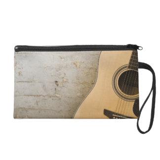 Guitar and Bricks Wristlet